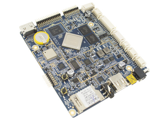 Commercial Tablet PC Embedded Computer Boards , Customize Boot Logo ARM Computer Board